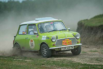 Classic Mini 1275 historic Rally car 1972 completed PEKING TO PARIS 2016