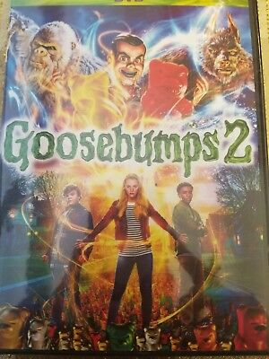 Goosebumps 2 (2018, DVD) FREE SHIPPING IN THE U.S.A.