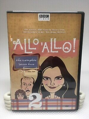 Allo Allo - The Complete Series Two 2  (DVD, 2005, 2-Disc Set) VG Viewed Once