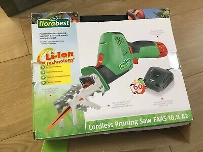 Florabest 10,8 Cordless Branch Saw BATTERY & CHARGER