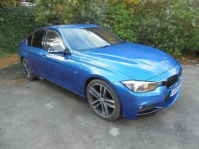 2015 Bmw 330D M Sport Step Auto Saloon Business Media Damaged Repaired Cat D