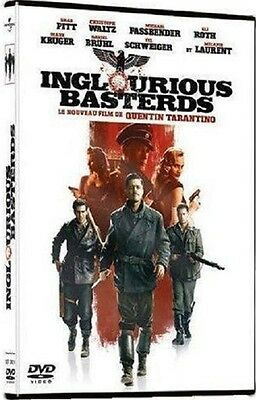 DVD : INGLOURIOUS BASTERDS  [ Pitt - Waltz - Kruger - Laurent ]  NEUF cellophané