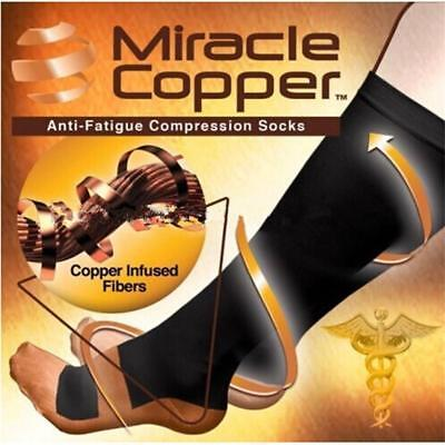 Unisex Calf Leg Compression Sleeve Socks Ankle Foot Support Brace Pain Relief UK