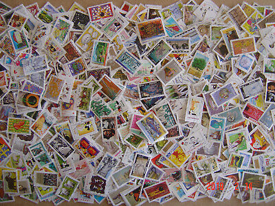 Lot 1035 Timbres Autoadhesifs Differents