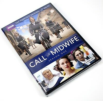 Brand New Sealed - Call the Midwife: Season One (DVD, 2012, 2-Disc Set)