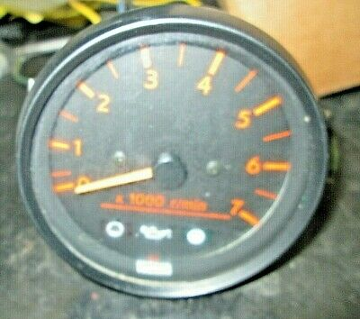 Yamaha Outboard Tachometer Freshwater used. oil lights as well w/connector