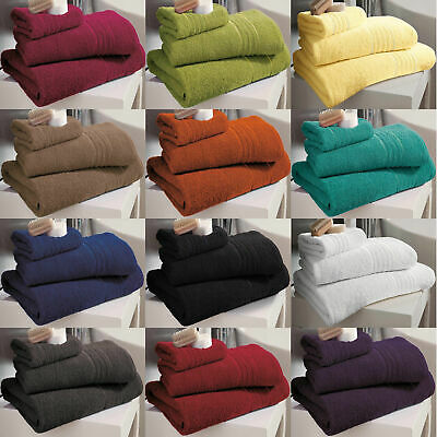 100% Egyptian Hampton Luxury Towels / Bath Sheets Cotton Super Soft & Absorbent