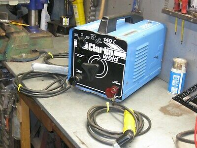 ARC WELDER          CLARK MMA  140 Amp  DUEL VOLTAGE 240/110