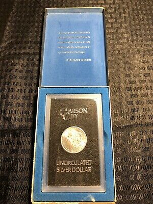1883 CC Morgan Silver Dollar NGC 2014 Private Issue Carson City Collection