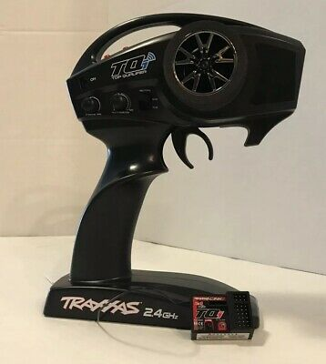 Traxxas Tqi Transmitter And 4 Channel Reciever Never Used From A Slash 4x4