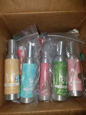 Authentic Scentsy 2.7 oz room spray air freshener WEATHERED LEATHER