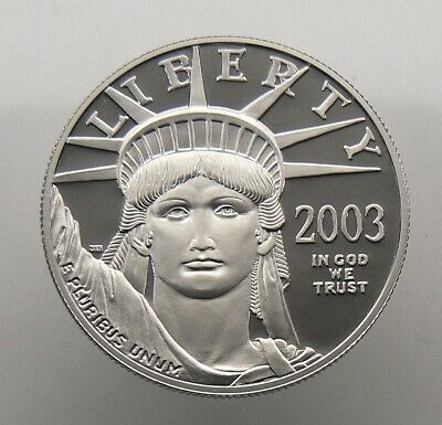 2003-W 1 oz $100 AMERICAN EAGLE PLATINUM PROOF COIN