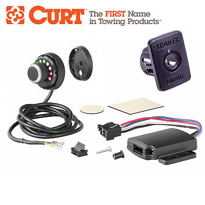 Redarc Panel + Curt Remote Electric Tow Brake Control Pro Quality An Elite Class