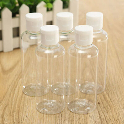 100ml Plastic Clear Bottle Travel Lotion Liquid Shampoo Makeup Containers Sets