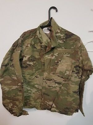 ARMY OCP SCORPION W2 MULTICAM  top jacket COMBAT large regular used