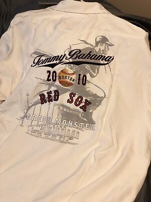 81370ad4 Boston Red Sox Tommy Bahama XL shirt Green Monster Limited Edition 595/1000