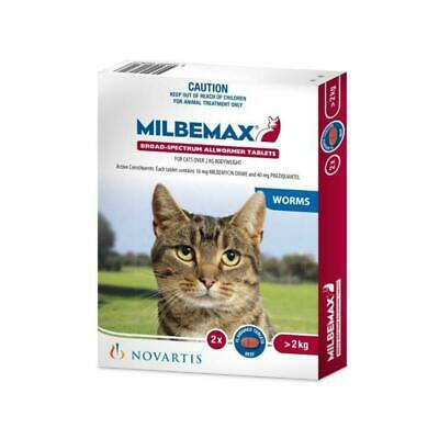 Milbemax All Wormer For Large Cats 2 Pack