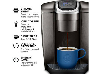 Keurig K-Elite Single Serve K-Cup Pod Coffee Maker- Brushed Slate - FREESHIP_NEW