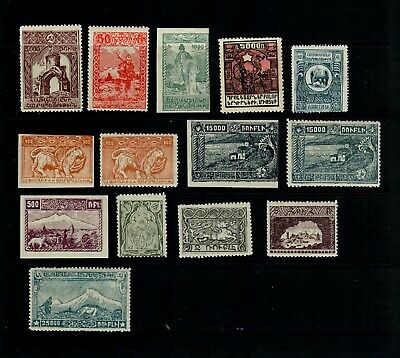 Stamps from Armenia