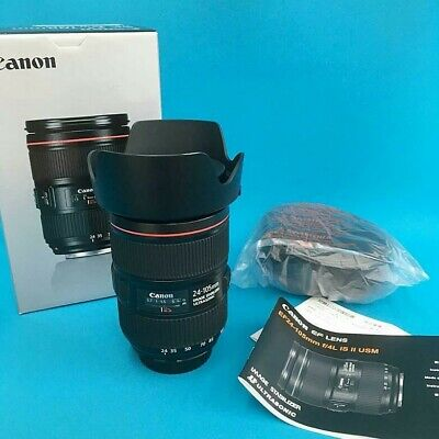 Canon EF 24-105mm f/4L IS II USM New Lens