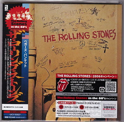 The Rolling Stones Beggars Banquet Mini Lp Cd Japan Uicy-93027 Sealed