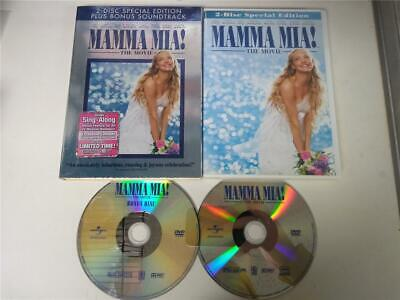 Mamma Mia: The Movie (DVD, 2009 2-Disc Special Edition) w/Slipcover Great Shape!