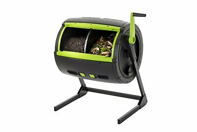 Maze 245L Compost Tumbler Compost Bin Unit with Handle - Organic Recycle Kit for