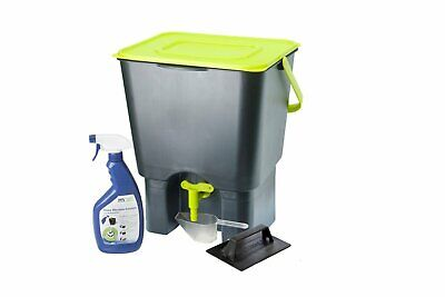 Maze 18L Indoor Bokashi and Organics Composter Kit - Ideal for kitchens and benc