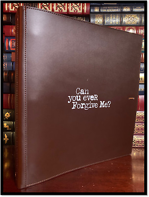 Can You Ever Forgive Me? Screenplay ✍SIGNED✍ by MELISSA McCARTHY New w/ Folder
