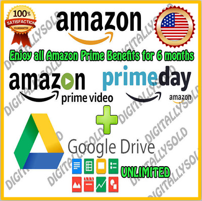 EDU Email ( Amazon Prime Free 6 Months+Google Drive Unlimited )