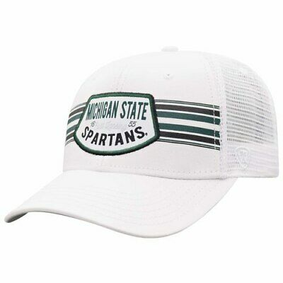 official photos 051c2 e4179 Michigan State Spartans Top of the World Sunzy Trucker Snapback Adjustable  Hat -