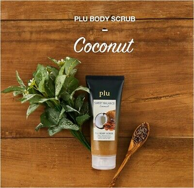 [plu]  Sweet Balance Coconut Body Scrub  200g