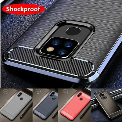 Shockproof Brushed Carbon Fiber TPU Soft Defender Case Cover Skin For Lot Meizu