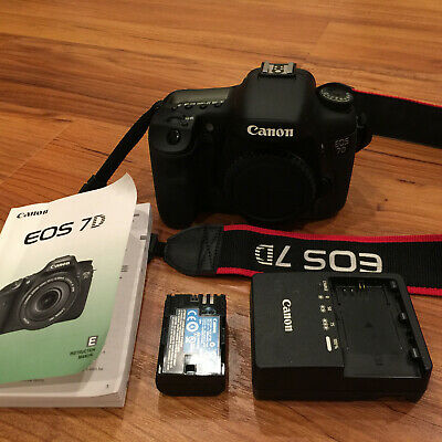 Canon EOS 7D 18.0MP DSLR Camera Body - Only 523 Shutter Counts