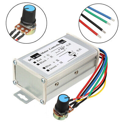 12V-60V 20A 25 KHz Pulse Width Modulator PWM DC Motor Speed Controller Switch UK