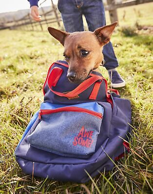 Joules Boys Easton Backpack in FRENCH NAVY in One Size