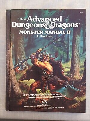 Advanced dungeons and dragons monster manual 2 - excellent condition 1983 editio