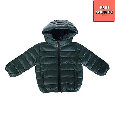 ASTON MARTIN Quilted Jacket Size 6-9M Padded Elasticated Cuffs Full Zip Hooded