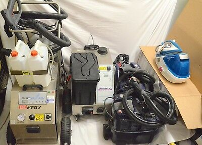 Job lot of Industrial steam machines for spares/repairs