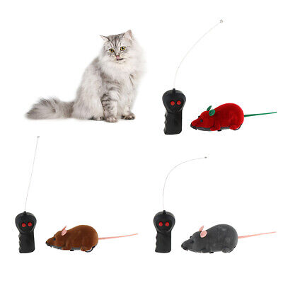 Battery Operated Electric Wireless Rat Mouse Interactive Toy for Pet Cat Dog