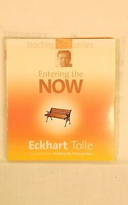 Entering the Now by Eckhart Tolle (English) Compact Disc Book