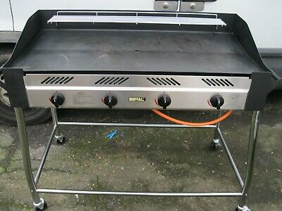 Buffalo GL179 Barbecue BBQ Griddle Propane 1025x1291x672mm Gas Burner Commercial