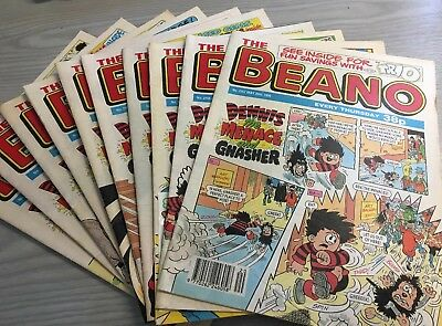 10 The Beano Dennis The Menace And Gnasher Magazine - 1995 (D9)