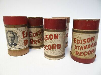 A Selection of Five Edison Bell Phonograph Records (k)