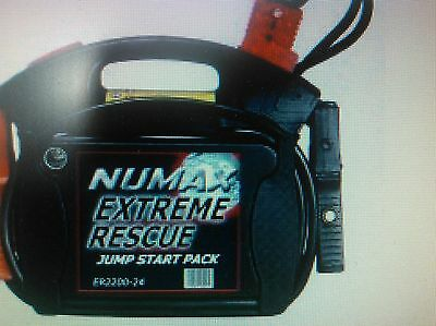 ER4400-12/24 Numax Extreme Rescue Jump Start Pack truckers mate
