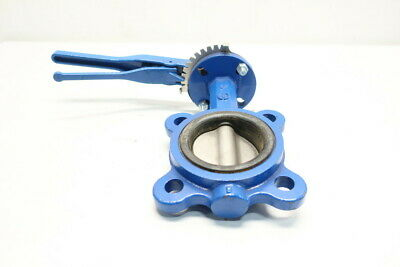 Abz 1128 Manual Iron Flanged 3in Butterfly Valve