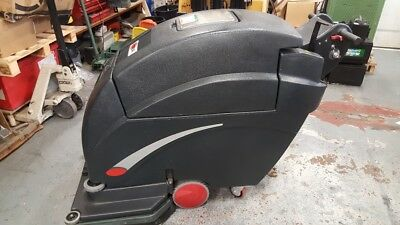 "Viper 28T 28"" Scrubber Dryer, Vgc, Made By The Nilfisk Group, Scrubber Drier"