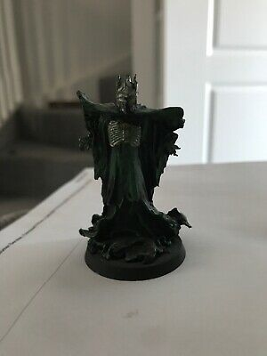Lord of the Rings Warhammer Sauron the Necromancer figure Metal