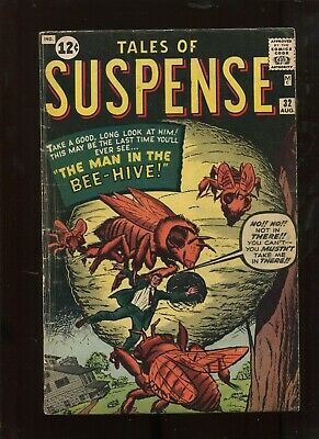 Tales Of Suspense #32 (4.5) The Man In The Bee Hive! Key!