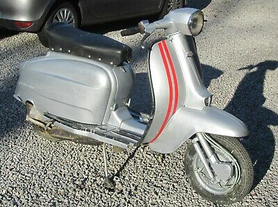1965 Spanish Eibar Lambretta TV 175 Series 3 with V5  – 1 of only 1500 ever made